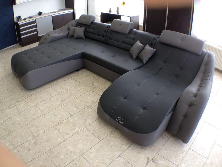 Lusso Relax King U alakú sarok ülőgarnitúra | Lusso Bútor