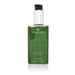 Pecksniff's Women's Fine Fragrance - Chypre Green 8.45 oz Moisturizing Shower Gel by Pecksniff's. $30.00. Buy Pecksniff's Bath & Shower Gels - Pecksniff's Women's Fine Fragrance - Chypre Green 8.45 oz Moisturizing Shower Gel. How-to-Use: Apply body wash to hands, loofah or wash cloth and lather. Cleanse body from the shoulders down and rinse.