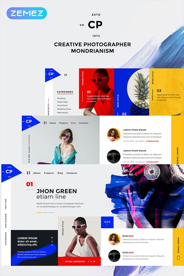 CPM, Creative Photographer Elementor WordPress Theme has an outstanding design showcasing your company as high-class one, being extremely attractive for audience! #wordpresstheme #wordpressdesign  https://www.templatemonster.com/wordpress-themes/john-green-creative-photographer-elementor-wordpress-theme-68656.html/