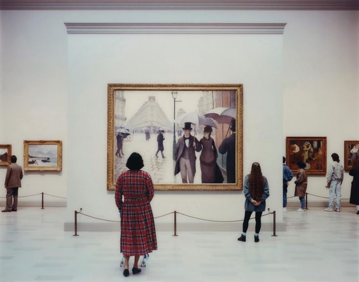 Thomas Struth - Art Institute of Chicago II, Chicago, 1990