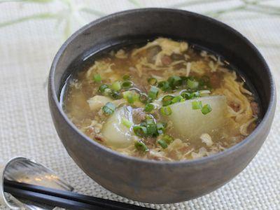 しょうが風味のとろとろ冬瓜スープ 【ヤマサ醤油株式会社】