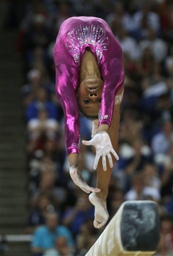 Gabby Douglas~Gold Medal Gymnastics!!!!  Great performance!