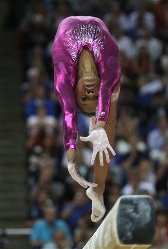 Gabby Douglas~Gold Medal Gymnastics!!!!  Great performance!