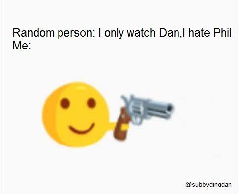 This is funny because people don't realize that without Phil, Dan probably wouldn't be on YouTube. So they can't hate Phil.