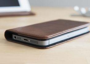 Housse iPhone en cuir Nodus