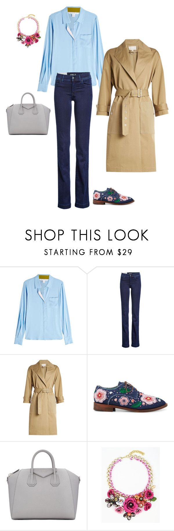 13 by asvetik on Polyvore featuring мода, Diane Von Furstenberg, Vanessa Bruno, 7 For All Mankind, Anouki and Givenchy