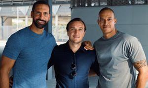 Rio Ferdinand, Mark Noble, Bobby Zamora