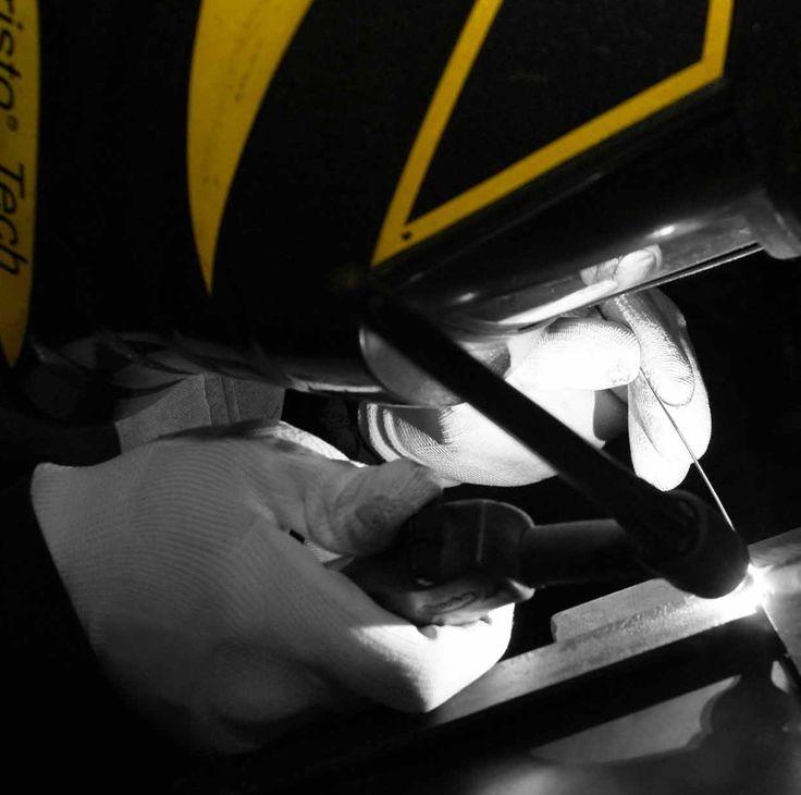 Attenzione al dettaglio, saldature eseguite dalle mani di sapienti artigiani. (www.pentasystems.it)