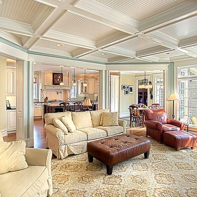 +Open +ceiling +coffered Design Ideas, Pictures, Remodel, And Decor