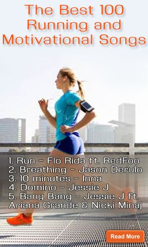 The Best 100 Running and Motivational Songs http://fitering.com/best-running-songs/