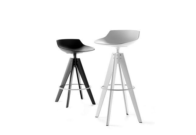 Flow Barstool By Mdf Italia   Hub Furniture Lighting Living
