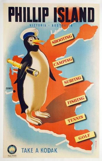 Phillip Island, Victoria, Australia, c1930s. by J. Miller Marshall