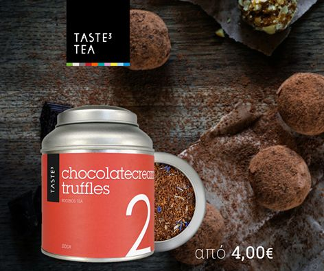 TASTE3 TEA - chocolate truffles