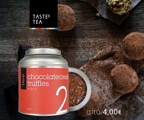 TASTE3 TEA - chocolate truffles