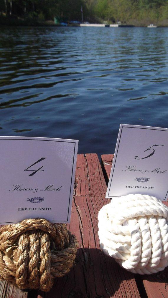 Nautical Wedding  15 Nautical Rope Table by KarensWeddingShop, $127.50