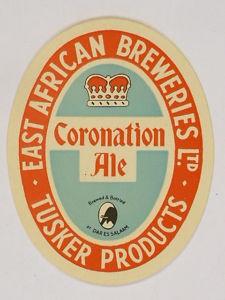 East Africa Coronation Ale Coaster