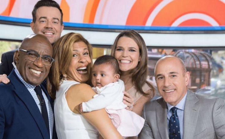 Hoda Kotb Brought Her Baby Haley Joy To 'Today
