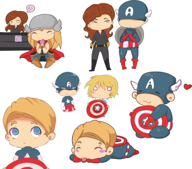 Mighty Cute Avengers: The Most Adorable Avengers Fan Art Ever!