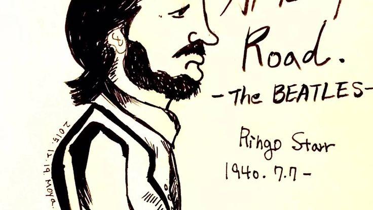 [MoyaTV] 손그림 영상 전시회#2    The Beatles drawing