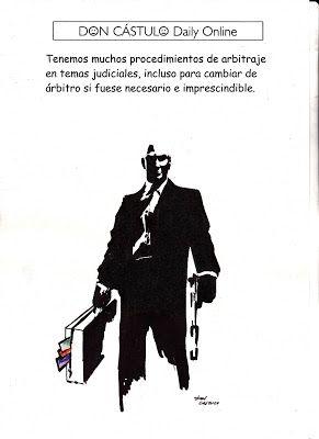 Don Cástulo: Asesoría jurídica