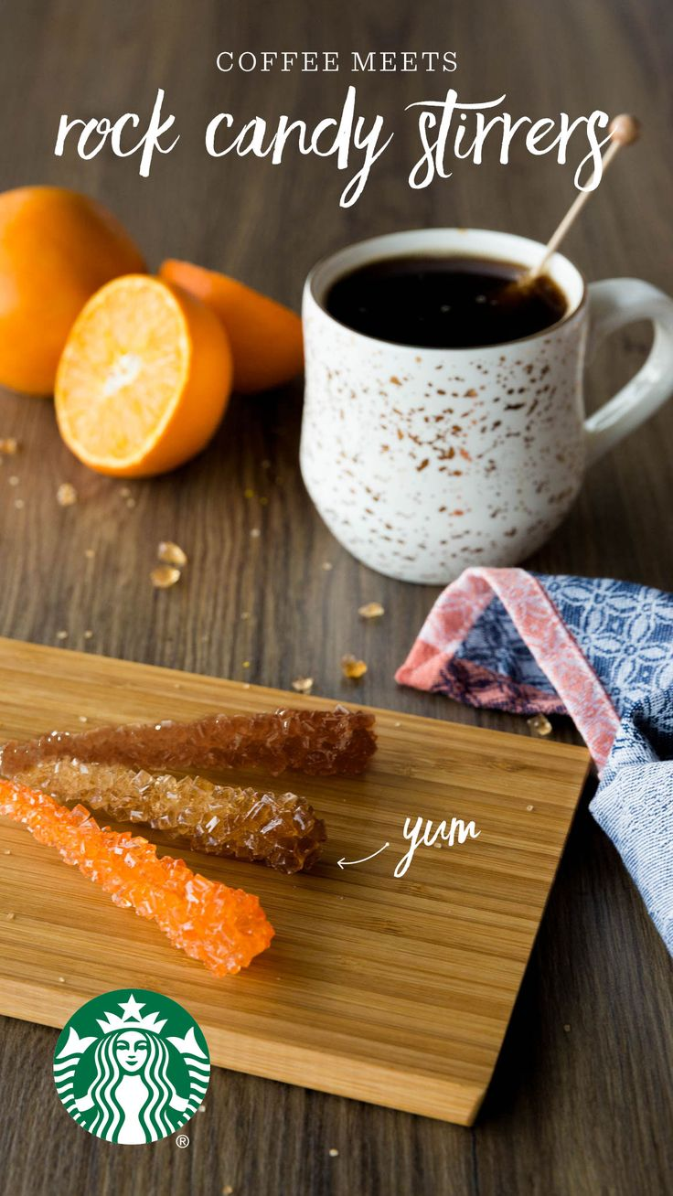 Candy stirrers add a hint of subtle sweetness to your favorite roast. They're perfect for a quick coffee or a casual brunch. Find your favorite flavors, or we recommend: citrus rock candy stirrer and a light roast, caramel stirrer and a medium roast, brown sugar stirrer and a dark roast.