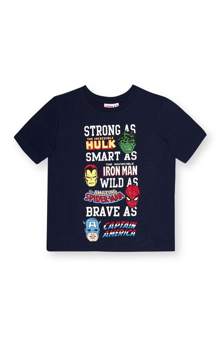 Primark - Avengers Slogan T-Shirt
