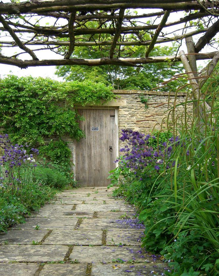 garden arbor path entrance
