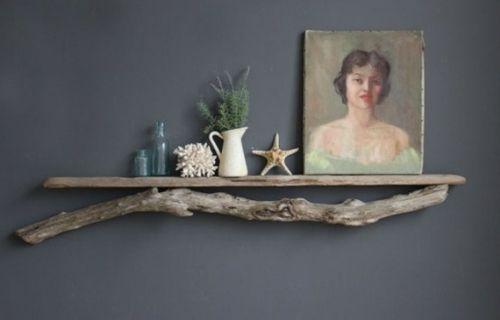 décoration étagere bois DIY