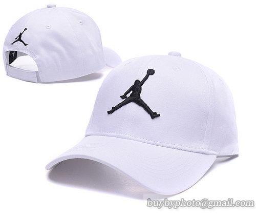 eec559c67a65e Jordan Baseball Caps White 100% COTTON