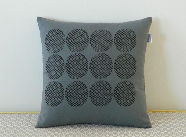 s.o.t.a.k handmade: block printed pillow