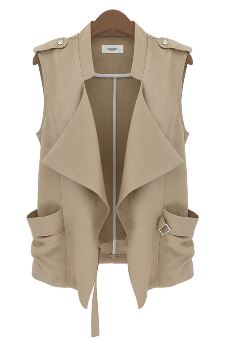 cool vest in khaki