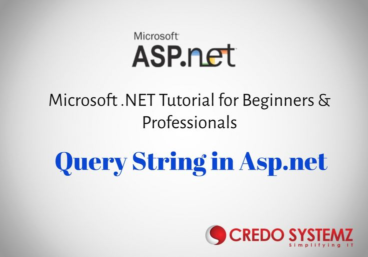Query String in ASP.NET Microsoft Dot NET Tutorials for Beginners #aspdotnet #dotnetutorials #trainingandplacementassistanceinchennai #Credosystemz