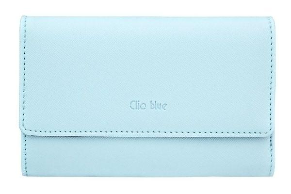 Portefeuille, bleu Clio Blue