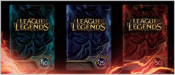 League of Legends RP cards - can get at Gamestop | Christmas List ...