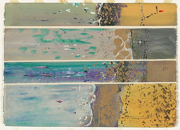 Fred WILLIAMS, (Study for 'Beachscape, Erith Island')