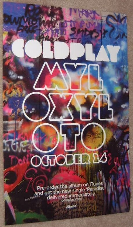 25+ best ideas about Coldplay poster on Pinterest ...