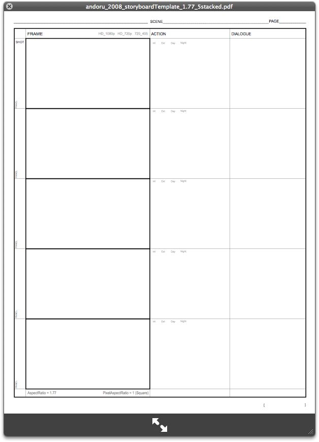 storyboard templates - Google Search