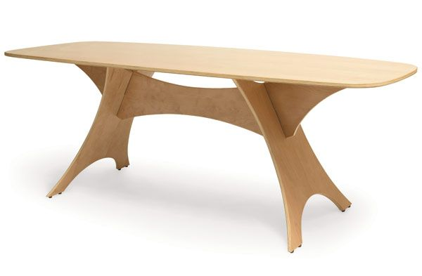 Simple scaleable CNC coffee or dining-table.