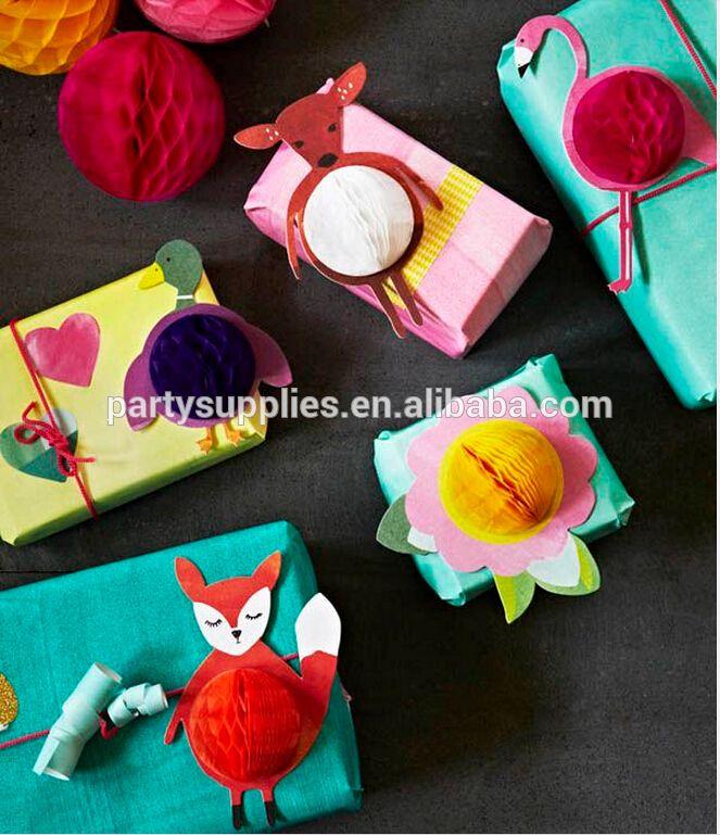 Очаровательны животных бумаги соты украшения на пасху рождественских ну вечеринку-изображение-Принадлежности для мероприятий и вечеринок-ID товара::60322301793-russian.alibaba.com