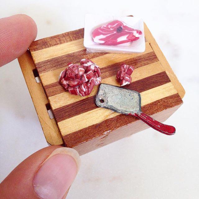 Butchers Block Miniature 1:12 scale.