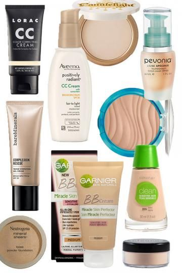 Hypoallergenic and Fragrance Free Foundations