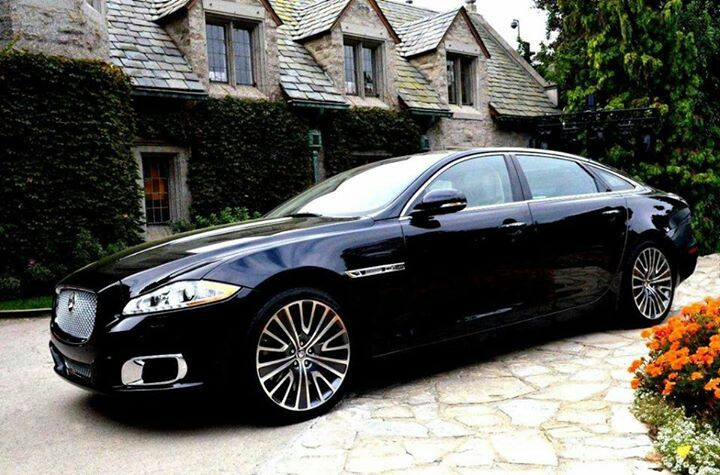 Jaguar XJL-a serious joy to drive. These cars are amazing.