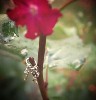 Fairy keys #abcdoes #fairies #provocationsforlearning #smallworld