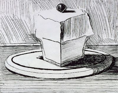 Black And White Cake Drawings