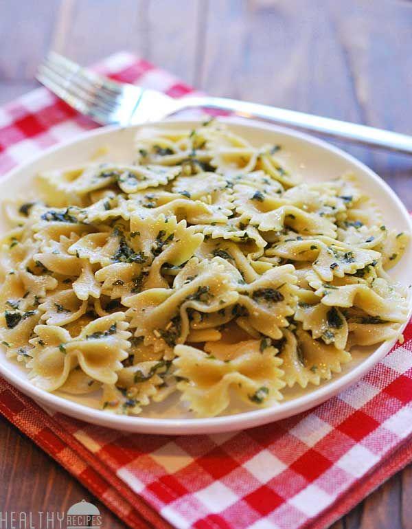 Pesto Pasta Salad   Healthy Recipes Blog