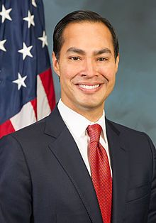 United States Secretary of Housing and Urban Development and former Mayor of San Antonio, Julian Castro. Castro's mother was a Chicana political activist who helped establish the Chicano political party La Raza Unida.