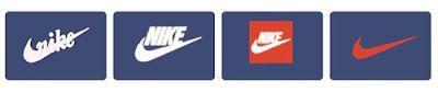 Evolution du logo Nike depuis 1971 (Carolyn Davidson)