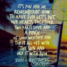 Rum by Brothers Osborne