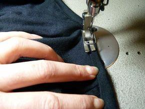 Tuto pour finition des bords en jersey