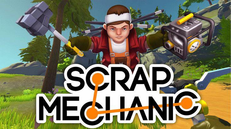 Scrap Mechanic Telecharger Gratuit Jeux PC